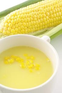 コーンスープの写真素材 [FYI00265256]