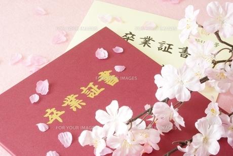 卒業証書の写真素材 [FYI00265296]
