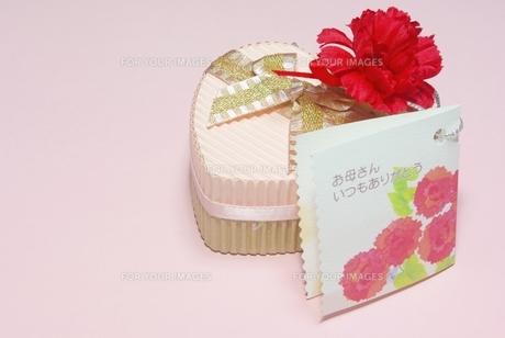 ハートのプレゼントの写真素材 [FYI00265302]