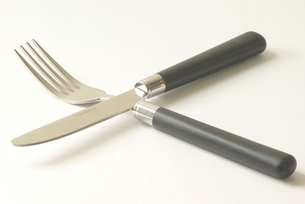 フォーク&ナイフの写真素材 [FYI00265312]