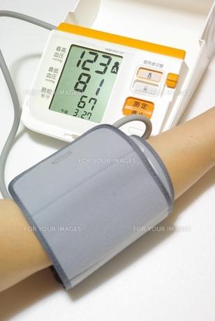 血圧計の素材 [FYI00265403]