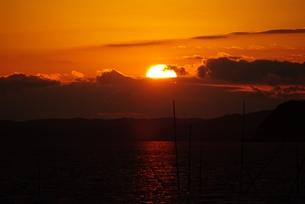 夕日の素材 [FYI00265455]
