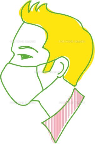 マスクをした男性の写真素材 [FYI00265553]