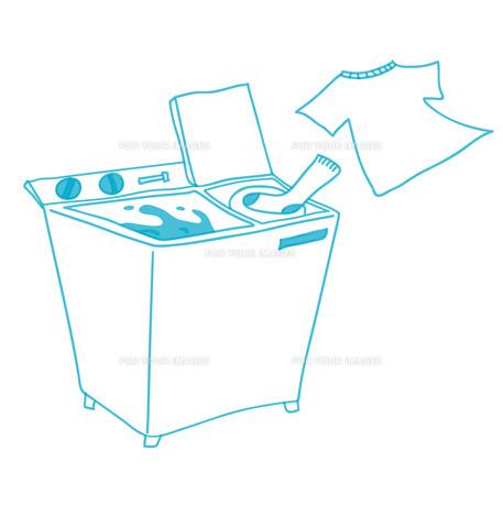 二槽式洗濯機の写真素材 [FYI00265574]