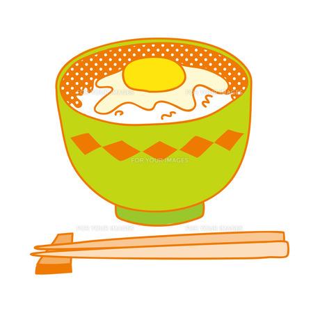 卵かけご飯の写真素材 [FYI00265598]