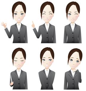 ビジネスウーマン 表情の写真素材 [FYI00265774]