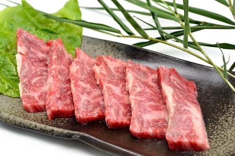 和牛カルビ 焼肉の写真素材 [FYI00265824]