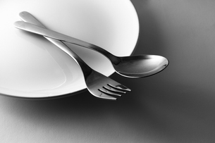 Spoon and forkの写真素材 [FYI00266078]