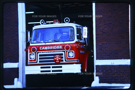消防自動車の写真素材 [FYI00266138]