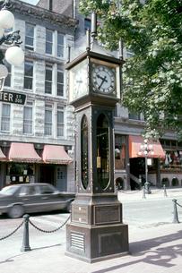 ガスタウンの蒸気時計の写真素材 [FYI00266501]