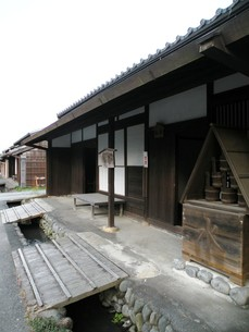 旧東海道大井川渡し場跡の写真素材 [FYI00267571]