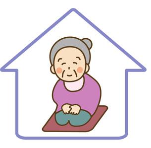 独居老人の素材 [FYI00267607]