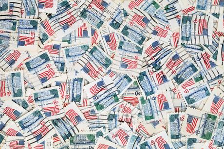 切手の写真素材 [FYI00267629]
