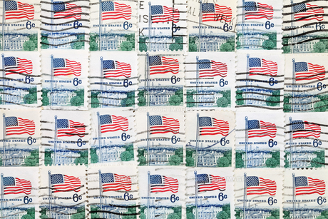 切手の写真素材 [FYI00267648]