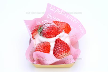 イチゴケーキの写真素材 [FYI00267696]