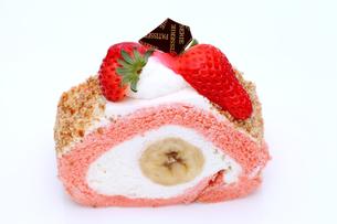 イチゴケーキの写真素材 [FYI00267711]