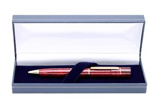ボールペン型はんこの写真素材 [FYI00267713]
