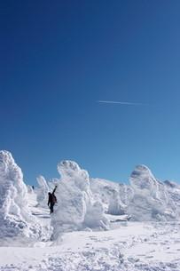 樹氷の写真素材 [FYI00268348]