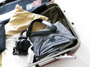 旅行鞄と中身の写真素材 [FYI00268867]