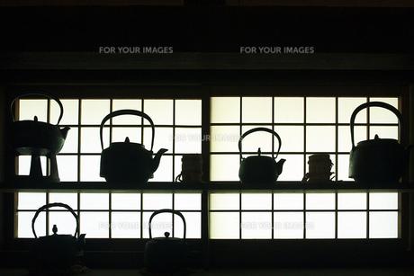 南部鉄瓶の写真素材 [FYI00268991]