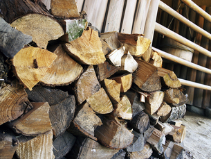 薪の写真素材 [FYI00269015]