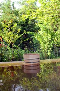 桧木風呂の写真素材 [FYI00269096]