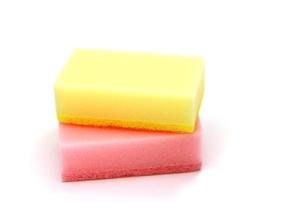 食器洗い用のスポンジの写真素材 [FYI00269187]