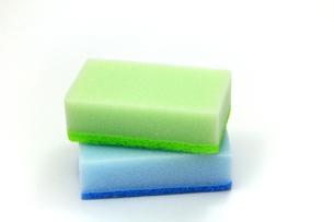 食器洗い用のスポンジの写真素材 [FYI00269188]
