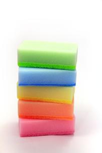 食器洗い用のスポンジの写真素材 [FYI00269195]