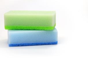 食器洗い用のスポンジの写真素材 [FYI00269202]