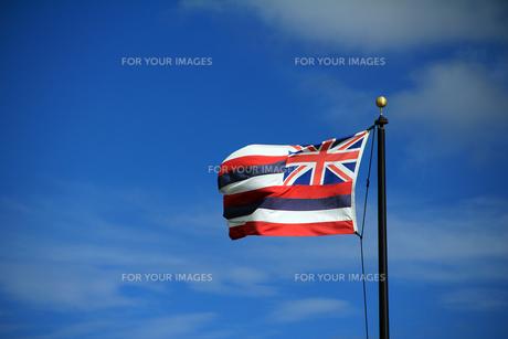 ハワイ州旗の素材 [FYI00269233]