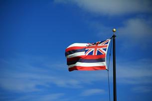 ハワイ州旗の写真素材 [FYI00269233]