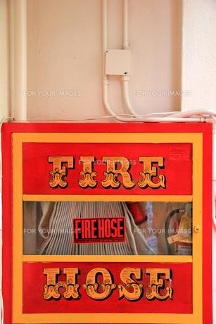 消火用ホースの写真素材 [FYI00269431]