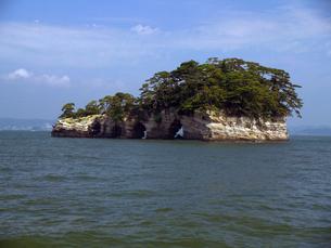 松島湾の鐘島の写真素材 [FYI00269614]