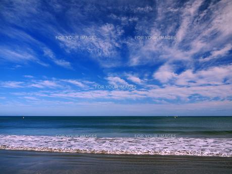 震災以前の仙台市荒浜の写真素材 [FYI00269622]