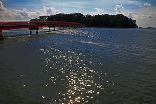 松島の福浦橋と福浦島の写真素材 [FYI00269627]