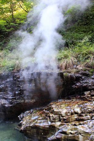 小安峡大噴湯の素材 [FYI00269633]