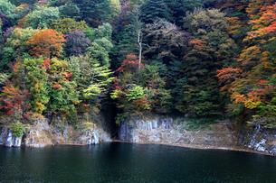 塩原ダムの写真素材 [FYI00269720]