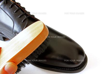 靴磨きの写真素材 [FYI00269723]