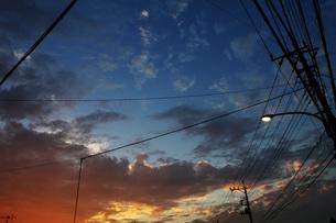 夕焼けの写真素材 [FYI00269971]