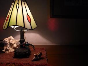 玄関の照明の写真素材 [FYI00269998]