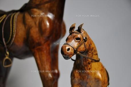 馬の置物の写真素材 [FYI00270019]
