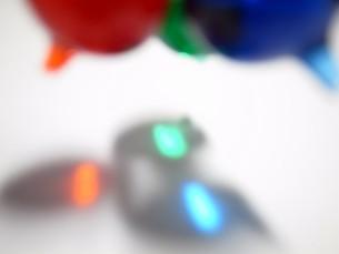 ガラス玉の透過光の素材 [FYI00270043]