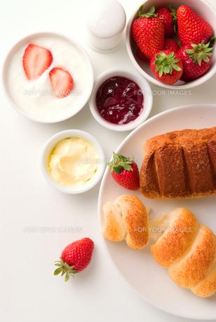 朝食風景の写真素材 [FYI00270469]