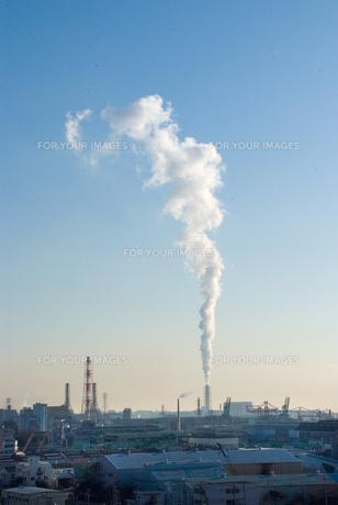煙突と煙の素材 [FYI00270473]