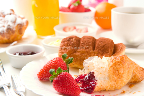 朝食の写真素材 [FYI00270497]