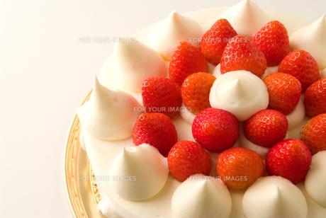 イチゴショートケーキの素材 [FYI00270504]