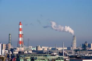 京浜工業地帯の写真素材 [FYI00270534]