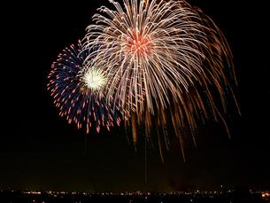 千葉県市川市の花火大会の写真素材 [FYI00271191]