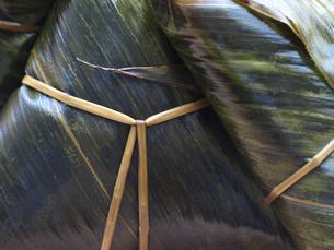 山形県庄内地方の郷土料理「笹巻」の写真素材 [FYI00271284]